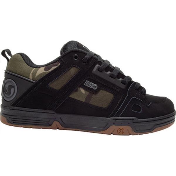 ディー・ブイ・エス メンズ スニーカー シューズ Comanche Black Camo Leather