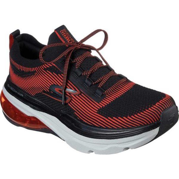 スケッチャーズ メンズ スニーカー シューズ Max Cushioning Air Tycoon Sneaker Black/Red