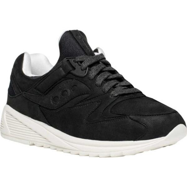 サッカニー メンズ スニーカー シューズ Grid 8500 HT Sneaker Black/White