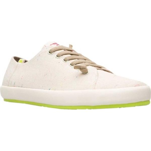 カンペール メンズ スニーカー シューズ Peu Rambla Sneaker Light Beige Natural Cotton