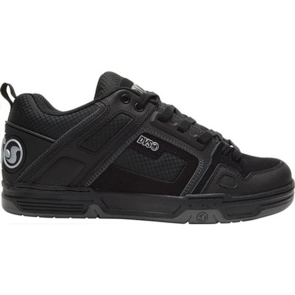 ディー・ブイ・エス メンズ スニーカー シューズ Comanche Black/Black/Charcoal Leather