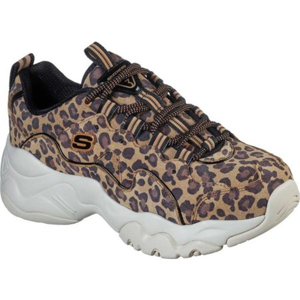 スケッチャーズ レディース スニーカー シューズ D'Lites 3.0 Leopard Spirit Sneaker Leopard