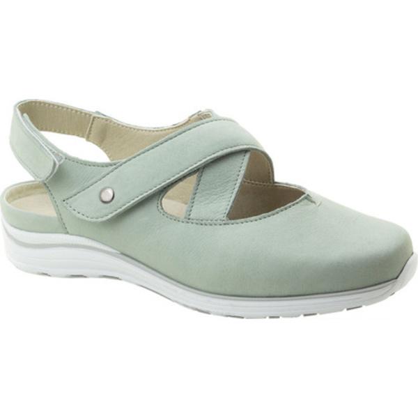 ドロメダリス レディース サンダル シューズ Melanie Closed Toe Sandal Mint Leather