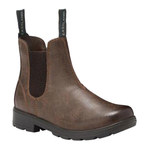 イーストランド レディース ブーツ&レインブーツ シューズ Baja Chelsea Boot Brown Synthetic