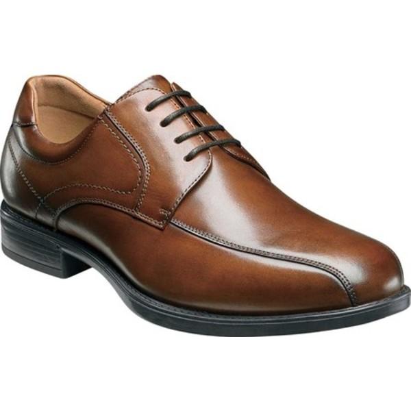 フローシャイム メンズ スニーカー シューズ Midtown Bike Toe Oxford Cognac Smooth Leather