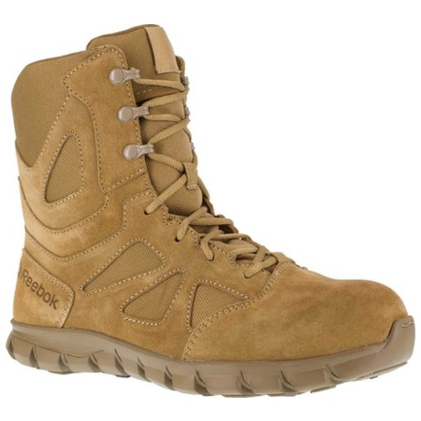 リーボック メンズ ブーツ&レインブーツ シューズ Duty Sublite Cushion Tactical Boot RB8809 Coyote Cattle Hide Leather/Ballistic Nylon