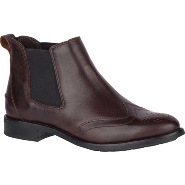 トップサイダー レディース ブーツ&レインブーツ シューズ Fairpoint Chelsea Boot Autumnal Brown Full Grain Leather
