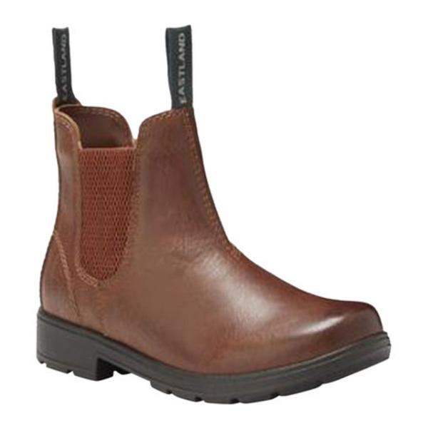 イーストランド レディース ブーツ&レインブーツ シューズ Baja Chelsea Boot Tan Synthetic