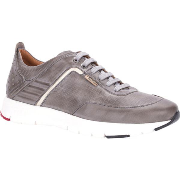 ピコリーノス メンズ スニーカー シューズ Reus Sneaker M6F-6070 Dark Grey Leather