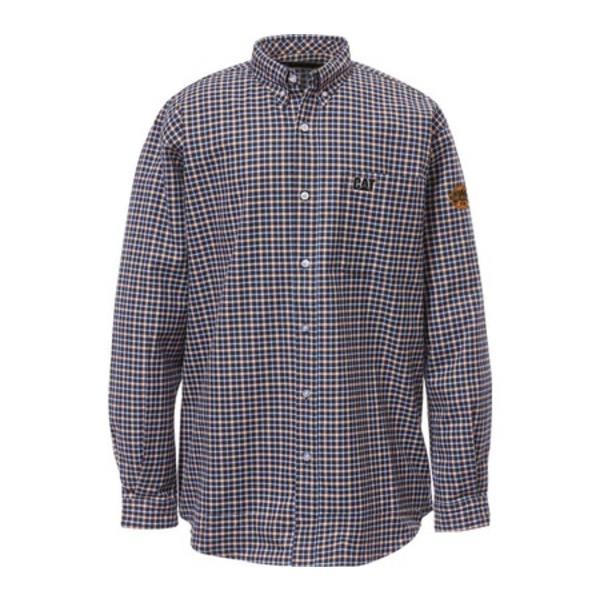 キャタピラー メンズ シャツ トップス Flame Resistant Plaid Work Shirt Floyd Plaid