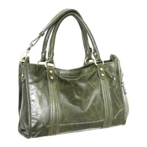 ニノボッシ メンズ ビジネス系 バッグ Amber Leather Satchel Green
