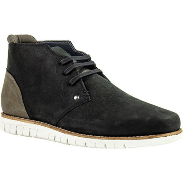 クレボ メンズ ブーツ&レインブーツ シューズ Gabor Chukka Boot Black Leather