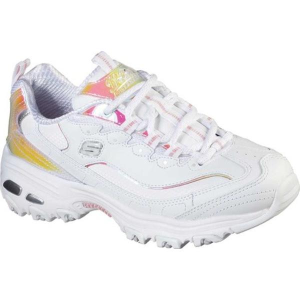 スケッチャーズ レディース スニーカー シューズ D'Lites Pearly Glow Sneaker White