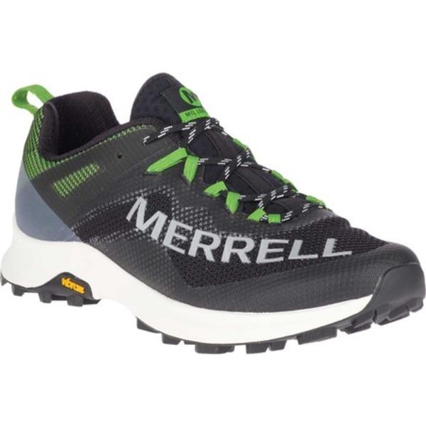 メレル メンズ ブーツ&レインブーツ シューズ MTL Long Sky Trail Shoe Black/Lime Mesh/TPU