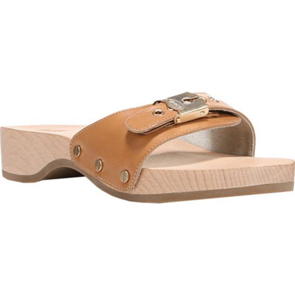 ドクターショール レディース サンダル シューズ Original Slide Sandal Camelot Leather