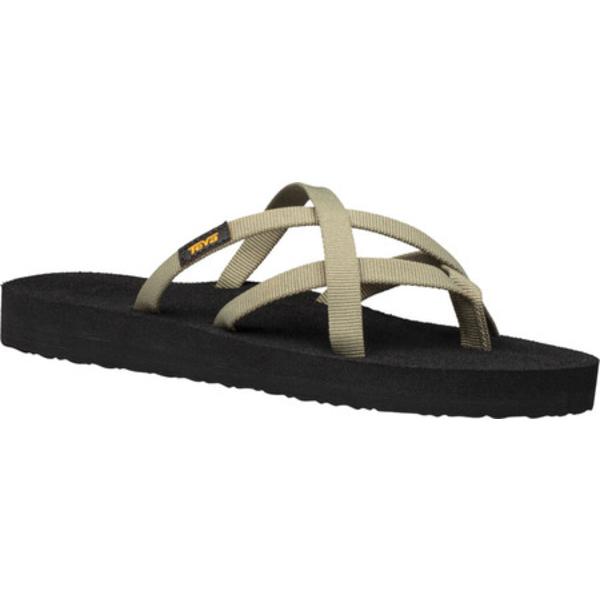テバ レディース サンダル シューズ Olowahu Sandal Burnt Olive Textile