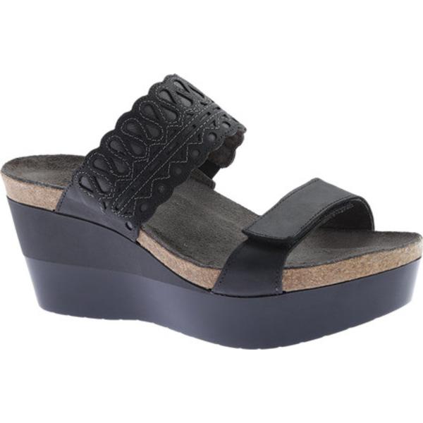 ナオト レディース サンダル シューズ Rise Wedge Sandal Oily Coal/Shadow Gray Nubuck