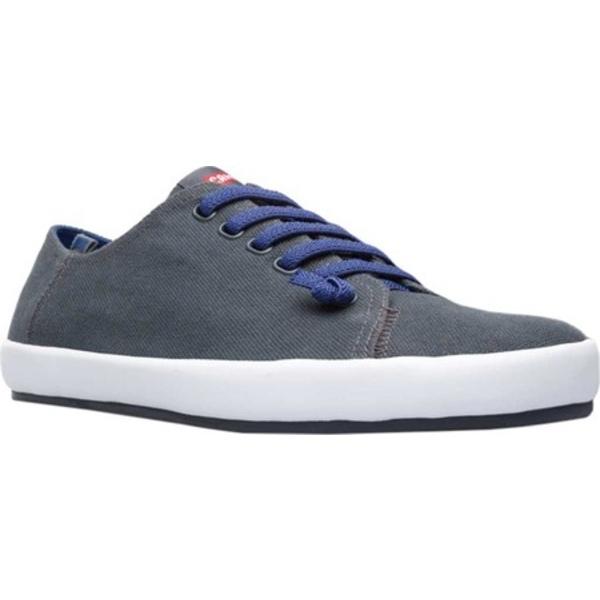 カンペール メンズ スニーカー シューズ Peu Rambla Sneaker Charcoal Natural Cotton