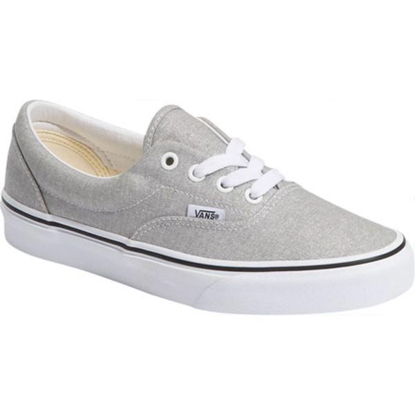 バンズ レディース スニーカー シューズ Era Canvas Sneaker Silver/True White