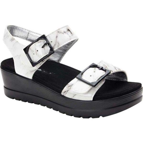 アレグリア レディース サンダル シューズ Morgyn Platform Sandal Marbleized Leather