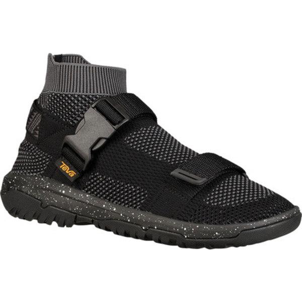 テバ メンズ スニーカー シューズ Hurricane Sock Sneaker Black Textile