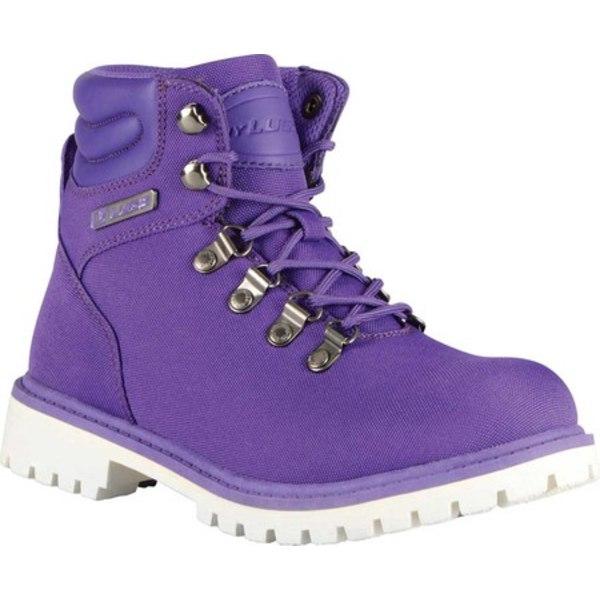 ラグズ レディース ブーツ&レインブーツ シューズ Grotto II Boot Purple/White Synthetic Nubuck