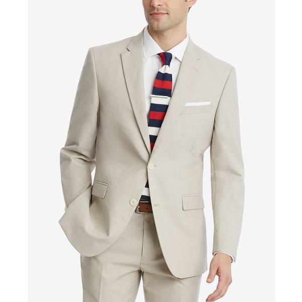 全品送料0円 トミー ヒルフィガー メンズ ジャケット&ブルゾン アウター Men's Modern-Fit Flex Stretch Suit Jackets Tan, オリバーソース dae12562