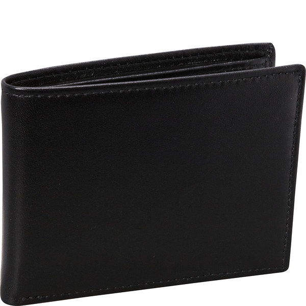 バッドレザー メンズ 財布 アクセサリー Nappa Soft Leather Slim Wallet w/ 8 Credit Card Slits 25480