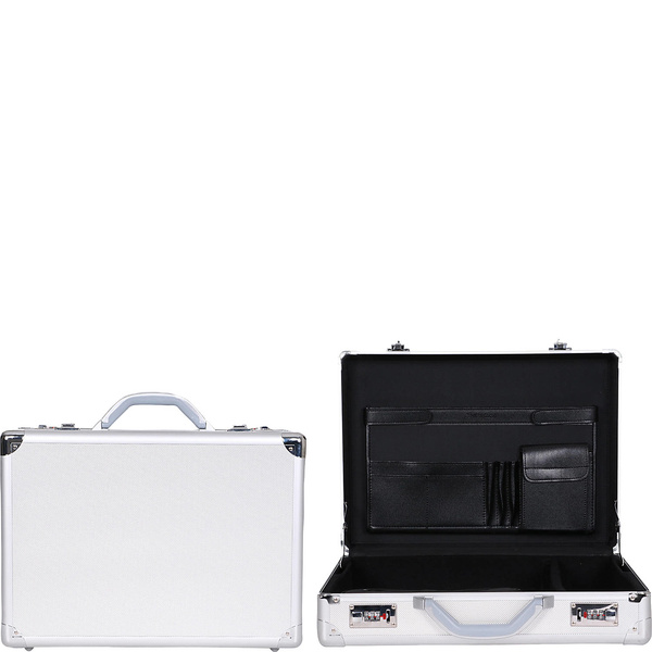 ヘリテージ メンズ ビジネス系 バッグ Aluminum 17.3 Attache with Secure Combination Lock & Removable Accessory Pouch 22980