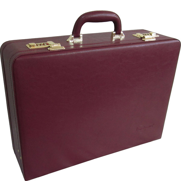 アメリ メンズ ビジネス系 バッグ Expandable Executive Faux Leather Attache Case 12480