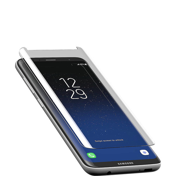 ザッグ メンズ PC・モバイルギア アクセサリー InvisibleShield Premiere Glass Curve Galaxy S8 Screen Protector 13980