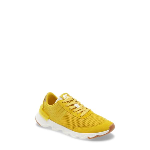 ソレル レディース スニーカー シューズ Kinetic Lite Sneaker Gold Leaf Suede