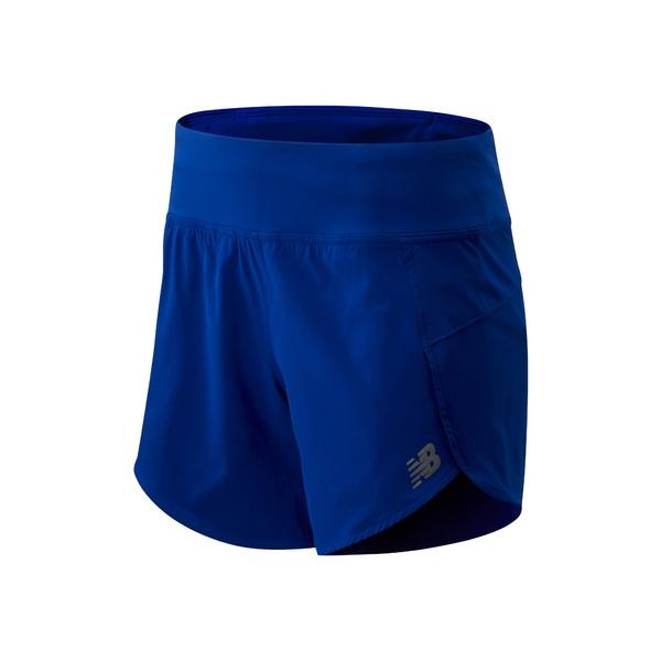 ニューバランス レディース カジュアルパンツ ボトムス 5-Inch Impact Running Shorts Marine Blue