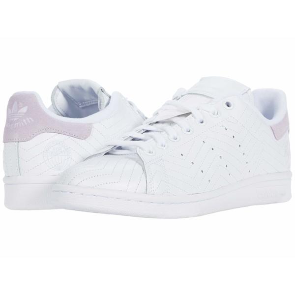 アディダス 1年保証 レディース シューズ スニーカー Footwear White 全商品無料サイズ交換 Smith W Stan Purple <セール&特集> Tint