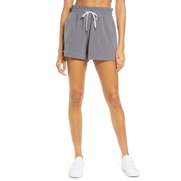 ゼラ レディース カジュアルパンツ ボトムス Camp Shorts Grey Shade