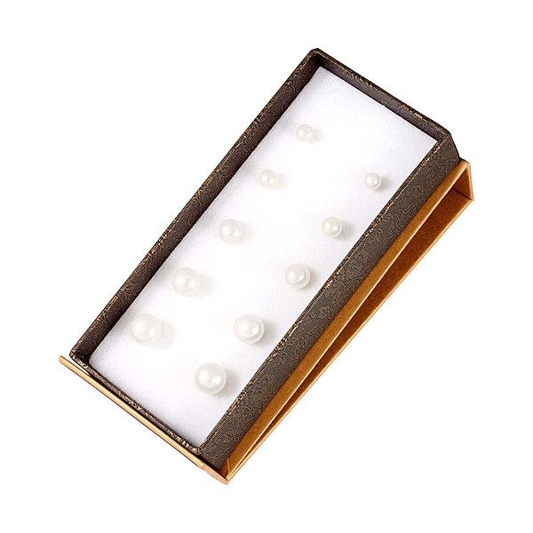 新版 スプレンデッドパールズ レディース ピアス&イヤリング アクセサリー Splendid Pearls Silver 5-9mm Freshwater Pearl Set of 5 Studs -, becosme 09165411