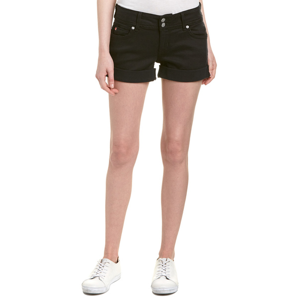 新品即決 ハドソンジーンズ レディース カジュアルパンツ ボトムス HUDSON Jeans Ruby Black Mid-Thigh Short black, オーディオ逸品館 97e0d743