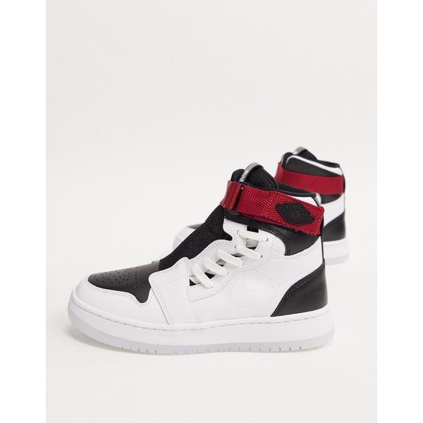 ジョーダン レディース スニーカー シューズ Nike Air Jordan 1 Nova sneakers in white and black White