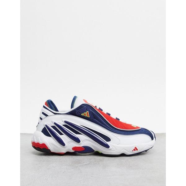 アディダスオリジナルス メンズ スニーカー シューズ adidas Originals solution sneakers in white Wh1 - white 1