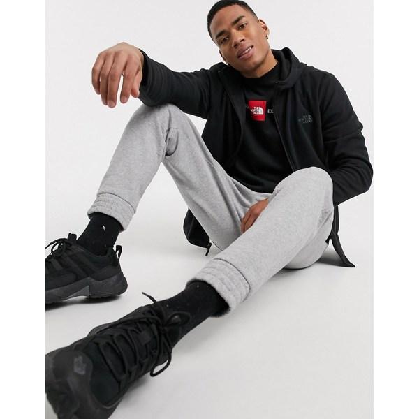 ノースフェイス メンズ アウター パーカー 年中無休 スウェットシャツ Black 全商品無料サイズ交換 The North glacier hoodie zip Face in 本物 black full Tka