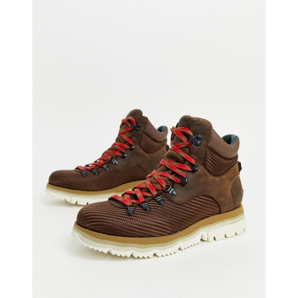 ソレル メンズ ブーツ&レインブーツ シューズ SOREL Atlis hiking boot in tobacco Brown