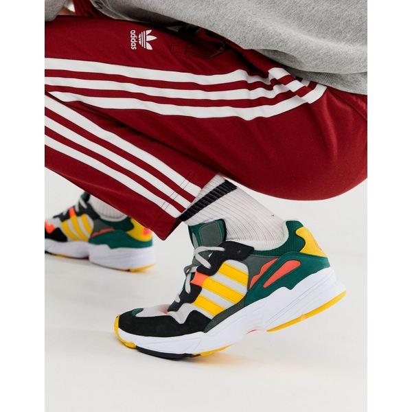 アディダスオリジナルス メンズ スニーカー シューズ adidas Originals Yung-96 sneakers in gray Gray