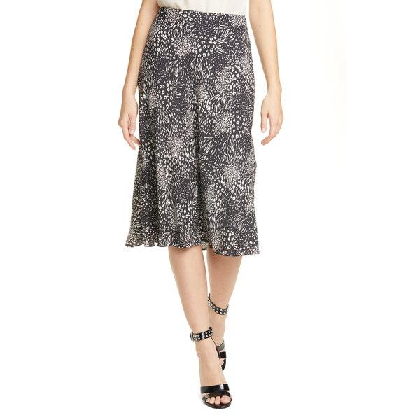 ジョア レディース スカート ボトムス Brystal Mixed Animal Print Skirt Caviar