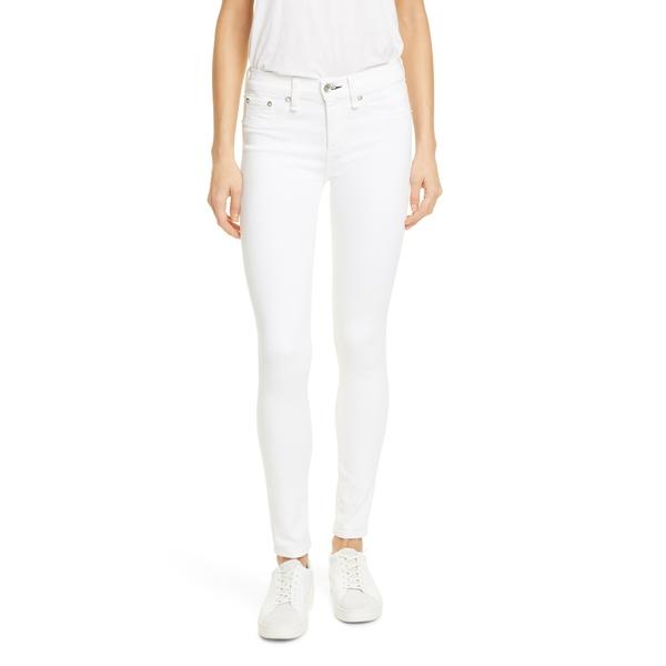 ラグアンドボーン レディース デニムパンツ ボトムス Cate Skinny Jeans White