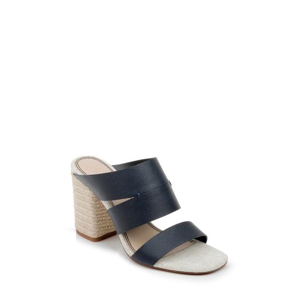 スプレンディット レディース サンダル シューズ Matty Slide Sandal Navy Leather