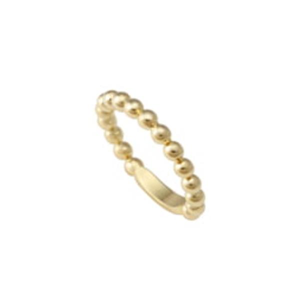 ラゴス レディース リング アクセサリー Caviar Stack Ring Gold