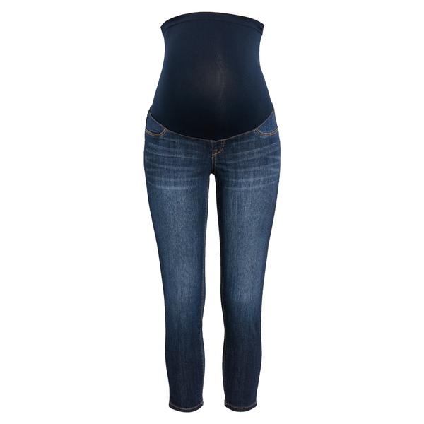 1822デニム レディース デニムパンツ ボトムス Over the Bump Crop Skinny Maternity Jeans Lennox