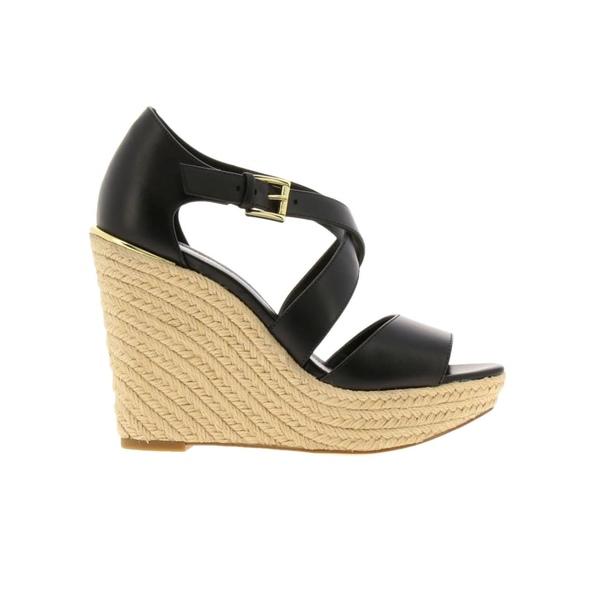 マイケルコース レディース サンダル シューズ Michael Michael Kors Wedge Shoes Shoes Women Michael Michael Kors black