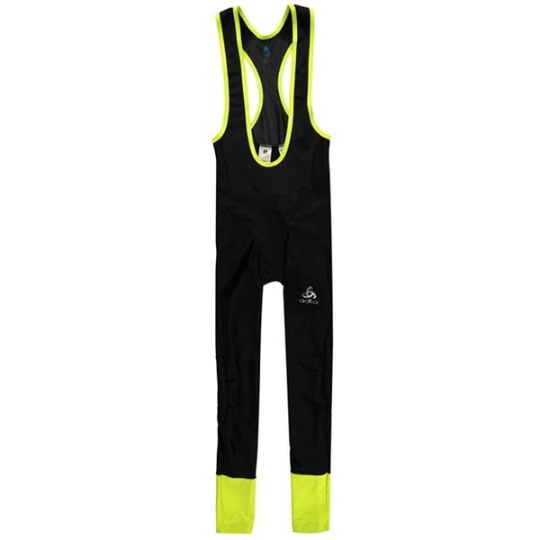 オドロ メンズ スポーツ サイクリング Black Yellow Tights Long Mens 全商品無料サイズ交換 Julier 上質 10%OFF Suspender