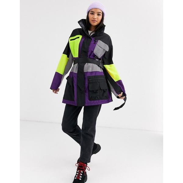エイソス レディース ジャケット&ブルゾン アウター ASOS DESIGN extreme utility anorak jacket Multi